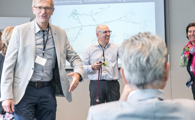 Dr. Walter Schoger mit dem Beitrag comforming am Führungskongress 2017