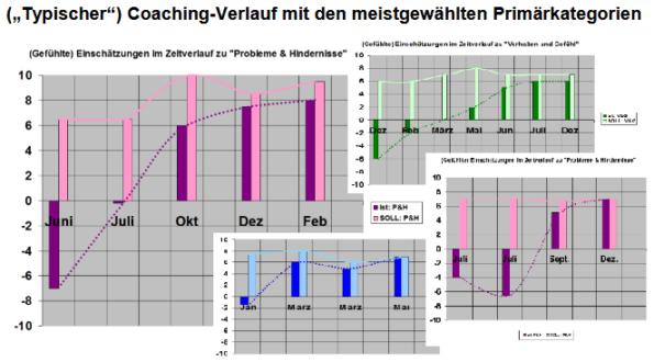 Coaching-Verläufe, Coaching-Erfolge und Qualität von Coachings